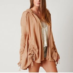 NWT Free People Get Your Gauze On Cardi S